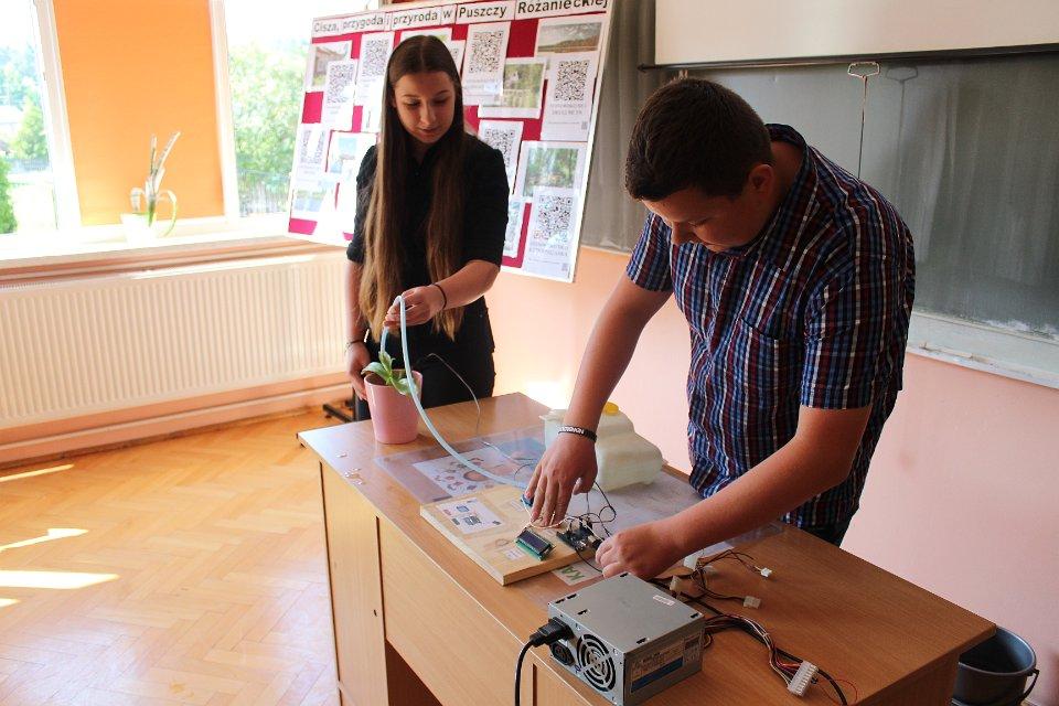 Prezentacja gimnazjalnych projektów edukacyjnych